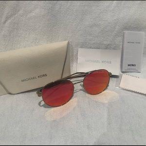Michael Kors 1021 LON Aviator Sunglasses